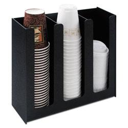 Advantus Cup Holder, 12 3/4w x 4 1/2d x 11 3/4d, Black
