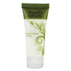 Pure & Natural™ Hand & Body Lotion, 0.75 oz, 288/Carton