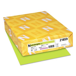 Astrobrights Color Paper, 24 lb, 8.5 x 11, Vulcan Green, 500/Ream