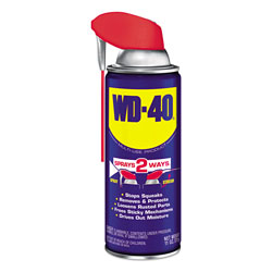 WD-40 Smart Straw Spray Lubricant, 11 oz. Aerosol Can, 12/Carton