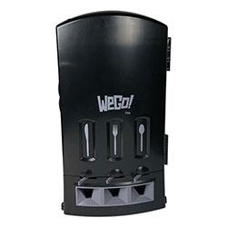 WeGo Dispenser, 13.39 in x 15.75 in x 23.62 in Black