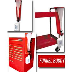 Whiteside Funnel Holder/Storage System