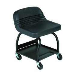 Whiteside High Rise Large Padded Creeper Seat Black