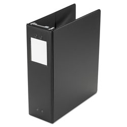 Wilson Jones Large Capacity Hanging Post Binder, 3 Posts, 3 in Capacity, 11 x 8.5, Black