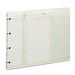 Wilson Jones Accounting, 9-1/4 x 11-7/8, 100 Loose Sheets/Pack