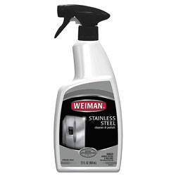 Weiman Products Stainless Steel Cleaner and Polish, Floral Scent, 22 oz Trigger Spray Bottle
