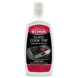 Weiman Products Glass Cook Top Cleaner and Polish, 20 oz, Squeeze Bottle, 6/CT