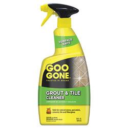 Goo Gone® Grout and Tile Cleaner, Citrus Scent, 28 oz Trigger Spray Bottle, 6/CT