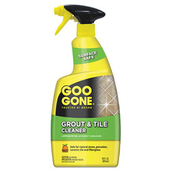 Goo Gone® Grout and Tile Cleaner, Citrus Scent, 28 oz Trigger Spray Bottle