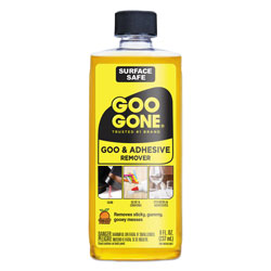 Goo Gone® Original Cleaner, Citrus Scent, 8 oz Bottle, 12/Carton