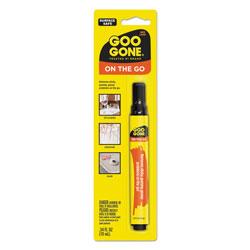 Goo Gone® Mess-Free Pen Cleaner, Citrus Scent, 0.34 Pen Applicator, 12/Carton