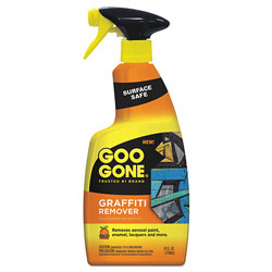 Goo Gone® Graffiti Remover, 24 oz Spray Bottle, 4/Carton