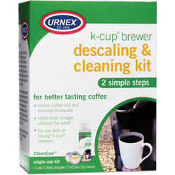 Weiman Products Descaling and Cleaning Kit, for K-Cup Brewer, 6 inWx2 inLx8 inH