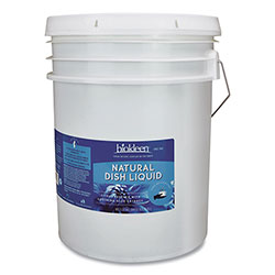 Weiman Products Natural Dish Liquid, Citrus, 5 gal Pail
