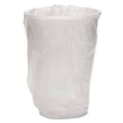 WNA Comet Wrapped Plastic Cups, 9oz, White, 1000/Carton