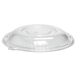 WNA Comet Caterline Pack n' Serve Lids, Plastic, Clear,10 in Diameter x 1 3/8 inHigh, 25/Ctn