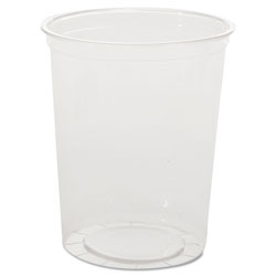 WNA Comet Deli Containers, Clear, 32oz, 25/Pack, 20 Packs/Carton