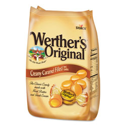 Werther's® Hard Candies, Caramel with Caramel Filling, 30 oz Bag