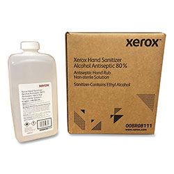 Xerox Hand Sanitizer, 0.5 gal Bottle, Unscented, 4/Carton