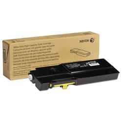 Xerox 106R03525 Extra High-Yield Toner, 8000 Page-Yield, Yellow