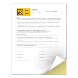 Xerox Revolution Digital Carbonless Paper, 2-Part, 8.5 x 11, Canary/White, 5, 000/Carton