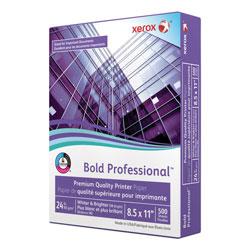 Xerox Bold Professional Quality Paper, 98 Bright, 24lb, 8.5 x 11, White, 500/Ream