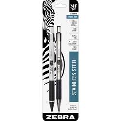 Zebra Pen Ballpoint Pen/Mechanical Pencil, 0.7mm Pen/.5mm Pencil, BK Ink