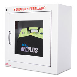 Zoll Medical AED Wall Cabinet, 17w x 9 1/2d x 17h, White