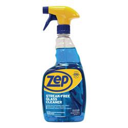 Zep Commercial® Streak-Free Glass Cleaner, Pleasant Scent, 32 oz Spray Bottle