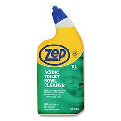 Zep Commercial® Acidic Toilet Bowl Cleaner, Mint, 32 oz Bottle, 12/Carton