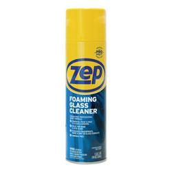 Zep Commercial® Foaming Glass Cleaner, 19 oz Aerosol, Mint Scent