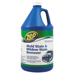 Zep Commercial® Mold Stain and Mildew Stain Remover, 1 gal Bottle