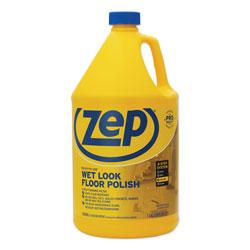 Zep Commercial® Wet Look Floor Polish, 1 gal, 4/Carton