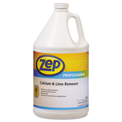 Zep Commercial® Calcium & Lime Remover, Neutral, 1gal Bottle, 4/Carton