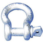 Peerless Chain Company Screw Pin Anchor Shackle, 3/4""