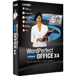 Corel WordPerfect Office X4 Standard Edition Complete Package