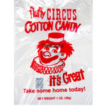 Gold Medal Products Co Co 3065 Cotton Candy Clown Print Paper Bags