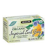 R C Bigelow Organic Earl Grey Tea