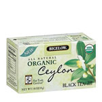 R C Bigelow Organic Fair Trade Ceylon Tea