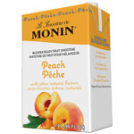 Monin Peach Fruit Smoothie Mix