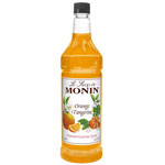 Monin Orange Tangerine Syrup PET, 1 Liter