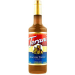 Torani® English Toffee Syrup PET, 750 mL