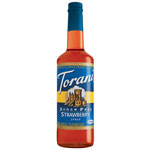 Torani® Strawberry Syrup Sugar Free PET, 750 mL