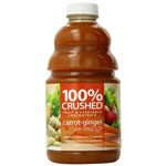 Dr. Smoothie 100% Crushed Carrot Ginger, 64 oz