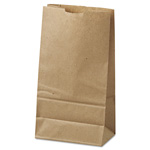 Duro Paper Grocery Bags, 6#, Natural