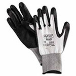 Ansell HyFlex Dyneema/Lycra Work Gloves, Size 11, White Black