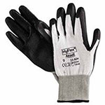 Ansell HyFlex Dyneema/Lycra Work Gloves, Size 9, White/Black