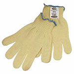 Ansell GoldKnit Heavyweight Gloves, Size 6, Yellow