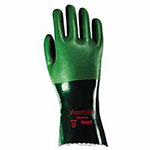 Ansell Scorpio Neoprene-Coated Gloves, Rough, Size 9