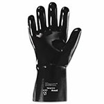 Ansell Neox Neoprene Gloves, Black, Smooth, Size 10